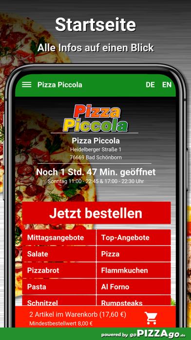 Pizza Piccola Bad Schönborn screenshot 2