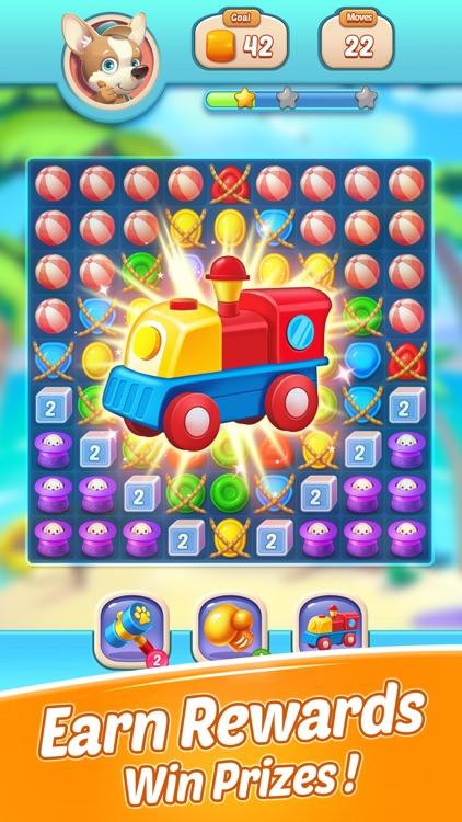 Candy Match - Mini City screenshot-3