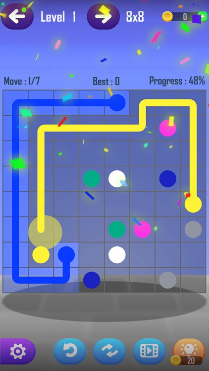 Line Puzzle Game-Color Connect screenshot-4