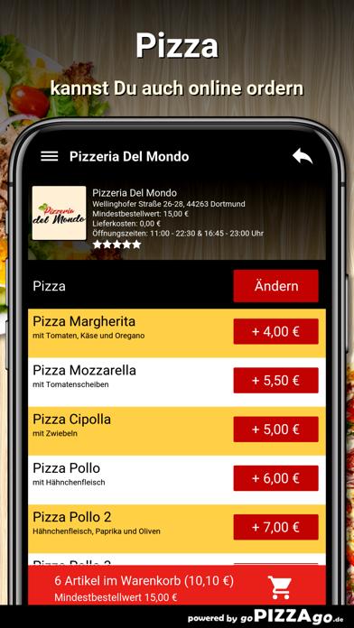 Pizzeria Del Mondo Dortmund screenshot 5