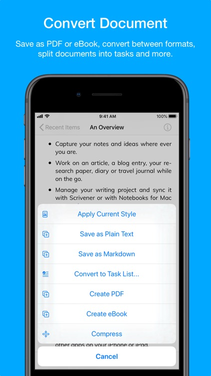 Notebooks – Write and Organize screenshot-8