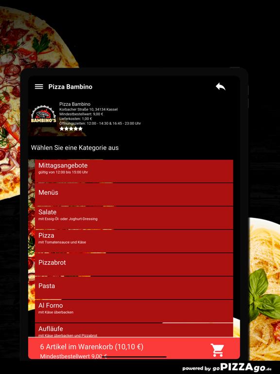 Pizza Bambino Kassel screenshot 8