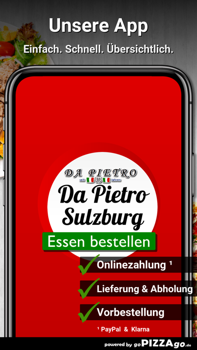 Pizzeria Da Pietro Sulzburg screenshot 1