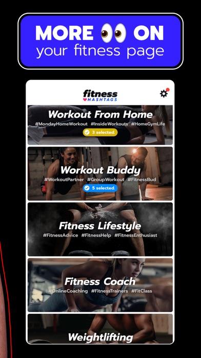 Fitness Hashtags App 3