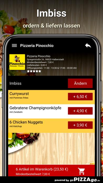 Pizzeria Pinocchio Halberstadt screenshot 6