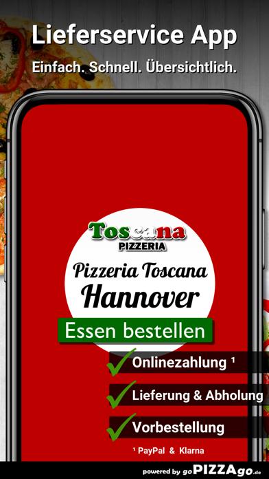 Pizzeria Toscana Hannover screenshot 1