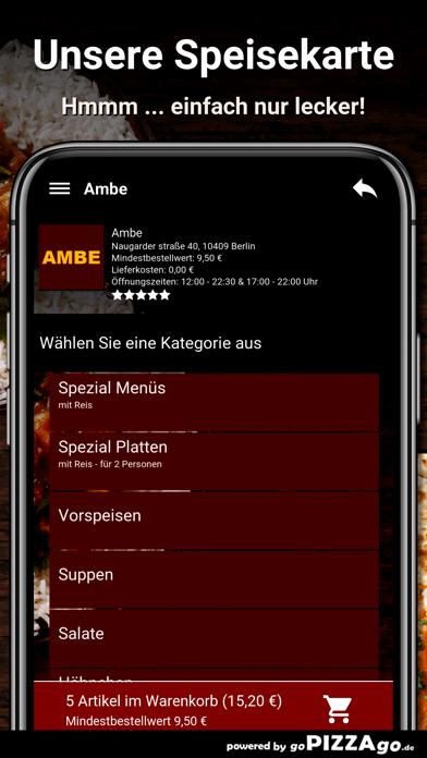 Ambe Berlin screenshot 4