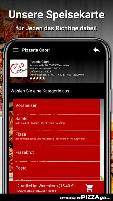 Pizzeria Capri Wiesbaden screenshot 4