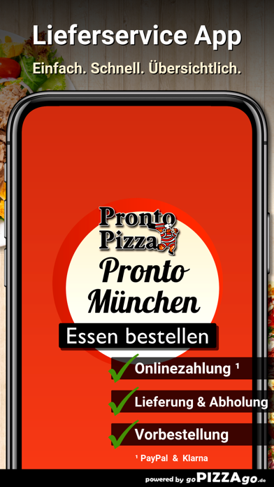 Pronto Pizza München Giesing screenshot 1