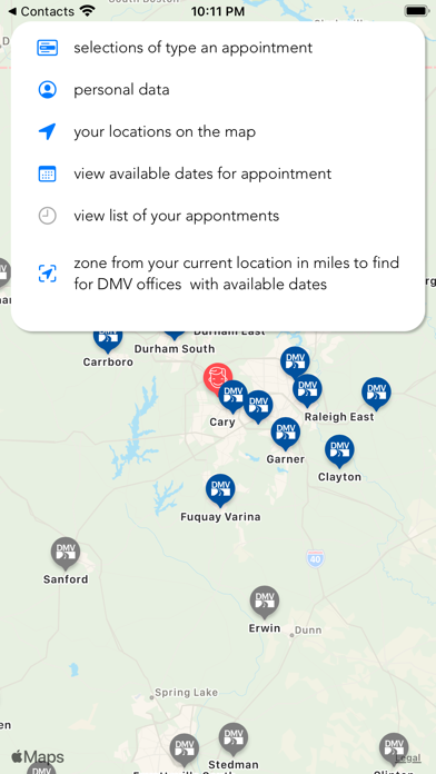 DMV NC Find Appointment screenshot 3