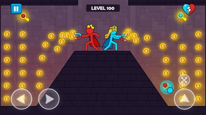 Red and Blue Stickman for windows pc