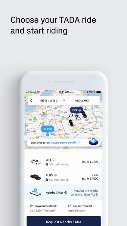 TADA - Quality Ride for All screenshot-3