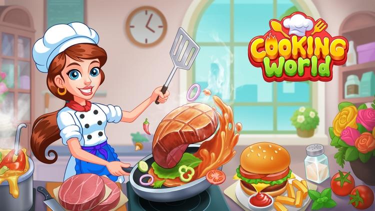 Cooking World Yummy Food screenshot-5