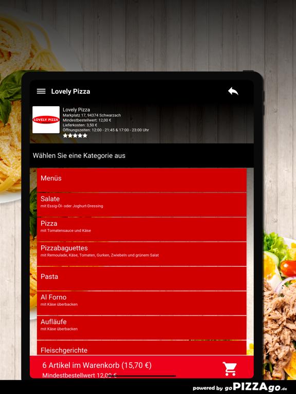 Lovely Pizza Schwarzach screenshot 8