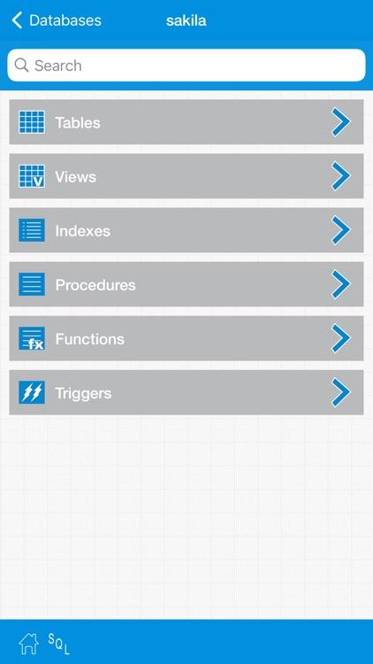 iMySqlProg - MySql Client screenshot-3