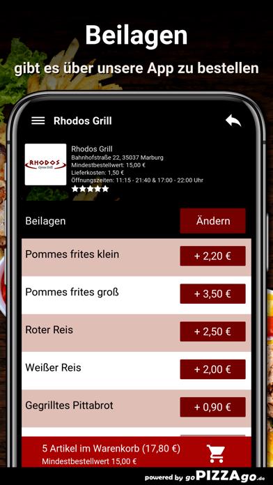 Rhodos-Grill Marburg screenshot 6