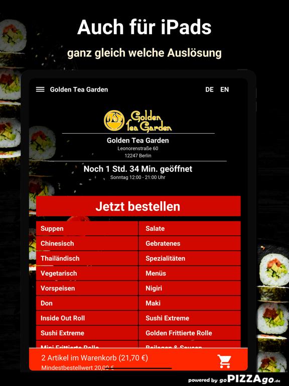 Golden Tea Garden Berlin screenshot 7