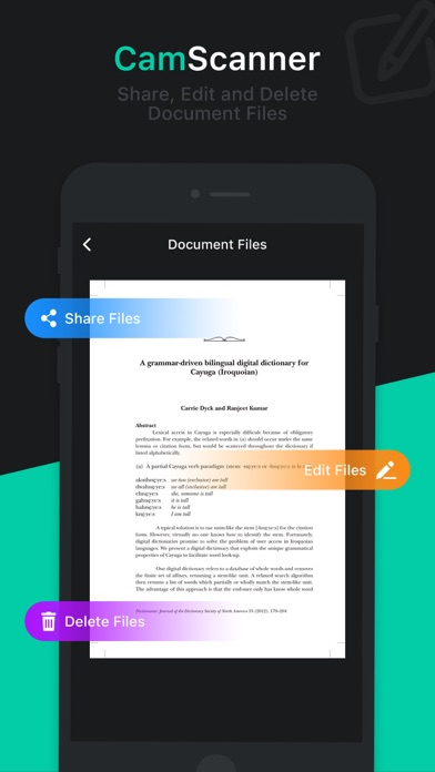 Tải về Cam Scanner - Scan to PDF cho Android