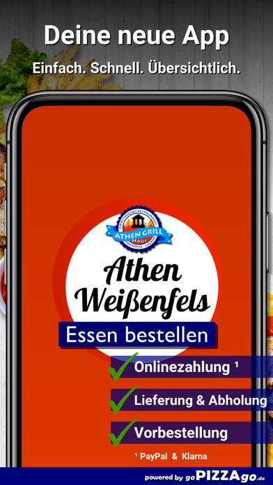 Athen Grillhaus Weißenfels screenshot 1