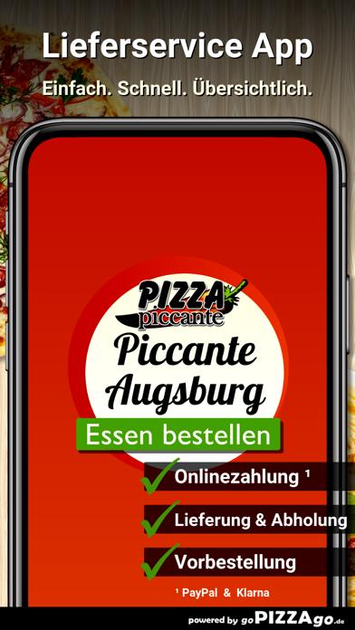 Pizza Piccante Augsburg screenshot 1