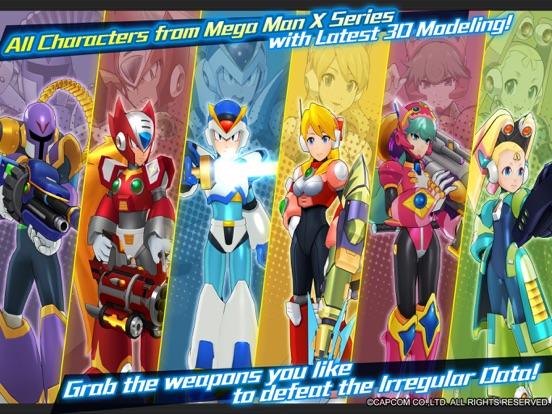 MEGA MAN X DiVE - MOBILE screenshot 5