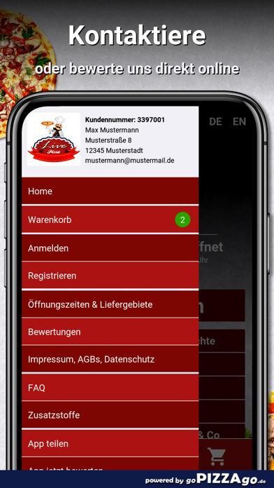 Live Pizza Pforzheim screenshot 3