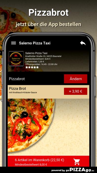 Salerno Pizza Taxi Baunatal screenshot 5