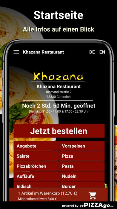 Khazana Restaurant Gütersloh screenshot 2