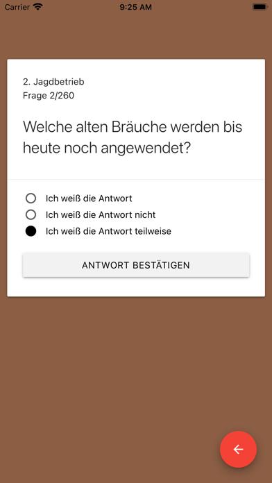 Jägerprüfung Mecklenburg 2021 screenshot 5