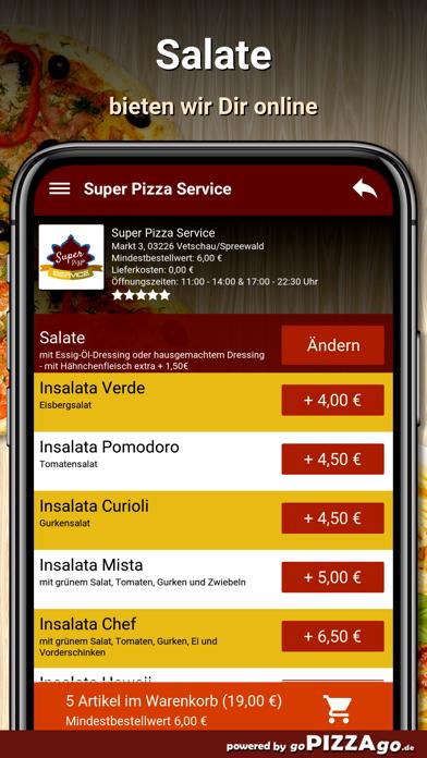 Super Pizza Vetschau/Spreewald screenshot 5
