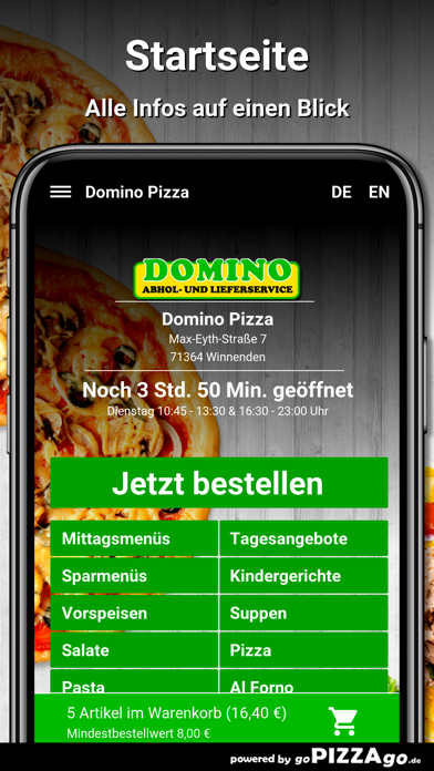Domino Pizza Winnenden screenshot 2