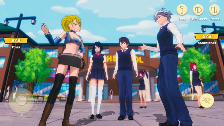 Sakura High School Girl Life screenshot-3