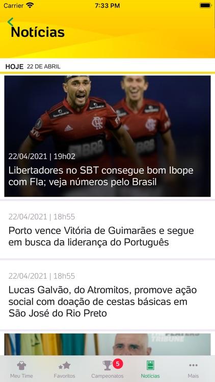 Placar UOL - Futebol screenshot-7