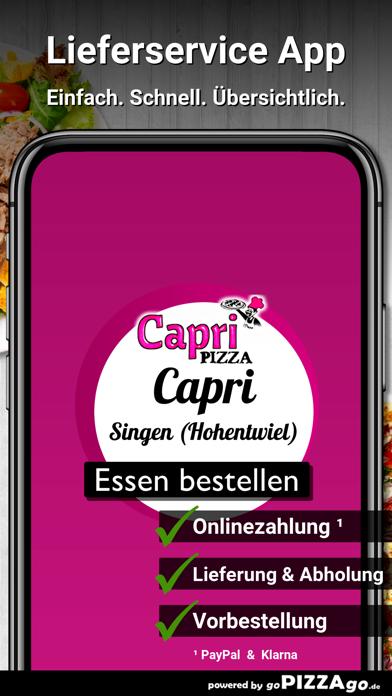 Capri Singen (Hohentwiel) screenshot 1