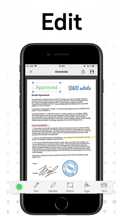 FineReader: PDF Document Scan