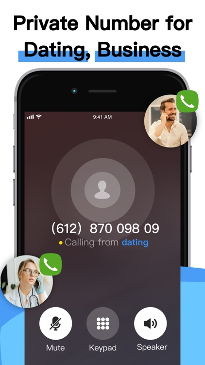 Phone Number-Text + Line Calls screenshot-7