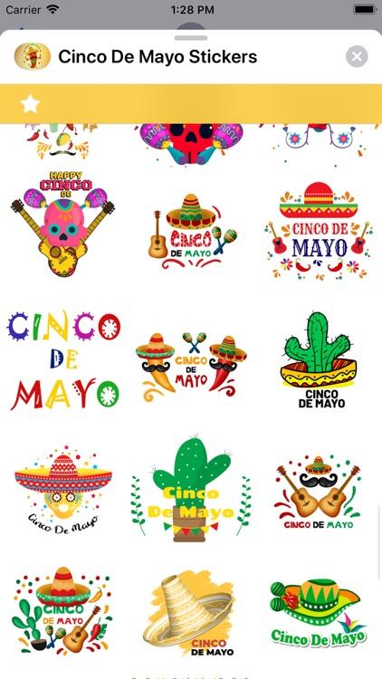 Cinco de Mayo Stickers screenshot-6