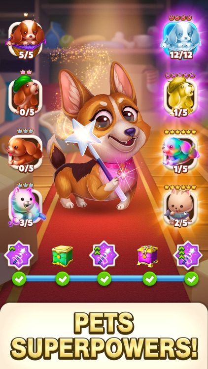 Solitaire Pets Adventure screenshot-3