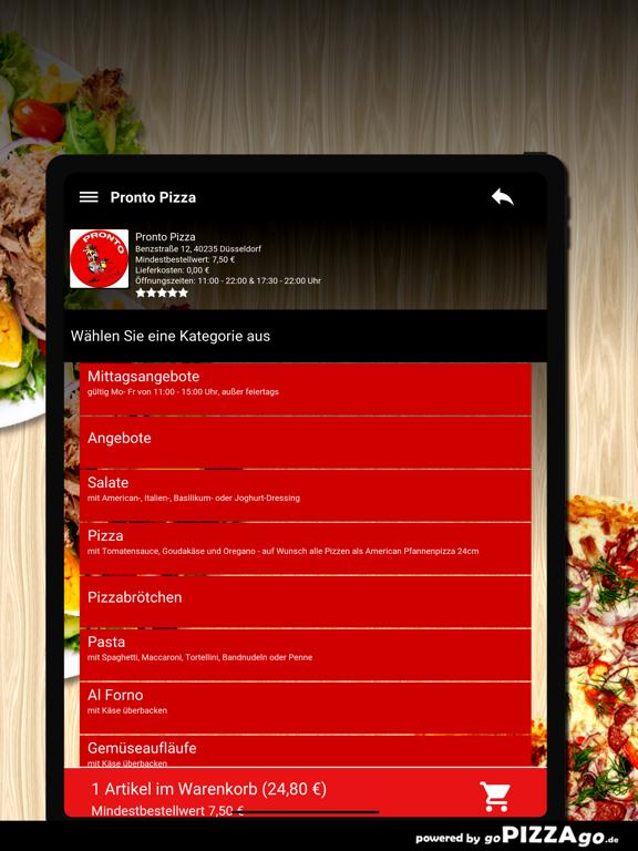 Pronto Pizza Düsseldorf screenshot 8