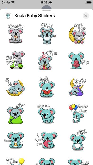 Koala Baby Stickers screenshot 3