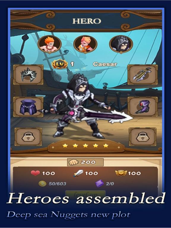 Ocean Seeker iPad app afbeelding 5