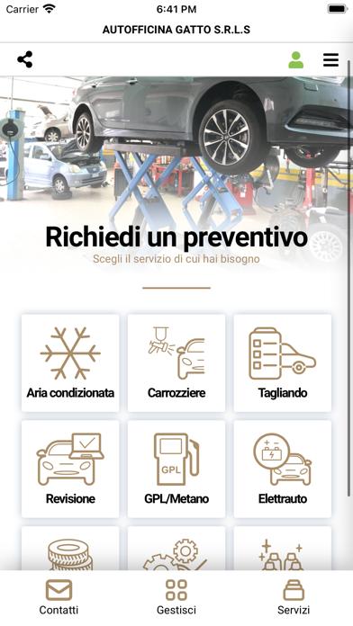 Autofficina Gatto Screenshot