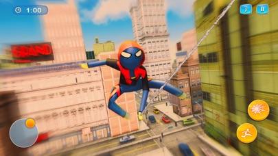 クモ 棒人間- ロープ ヒーロー 3D紹介画像1