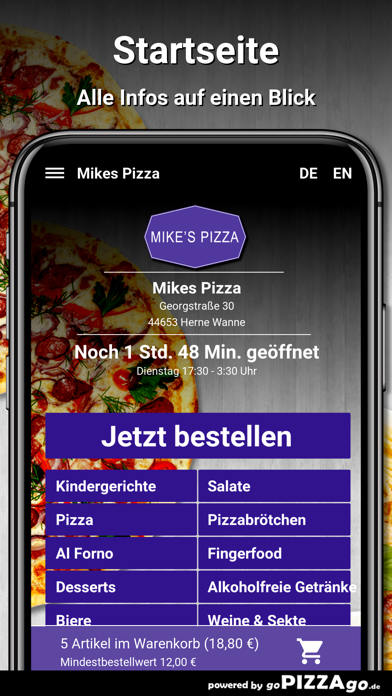 Mikes Pizza Herne Wanne screenshot 2