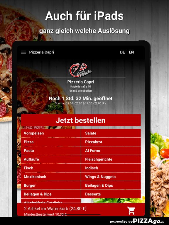 Pizzeria Capri Wiesbaden screenshot 8