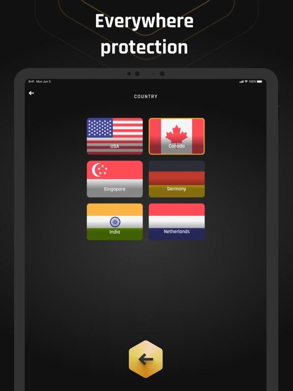 Ipad Screen Shot Eclipse VPN: Online Security 3