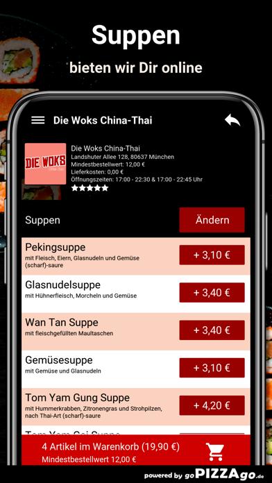 Die Woks China-Thai München screenshot 6