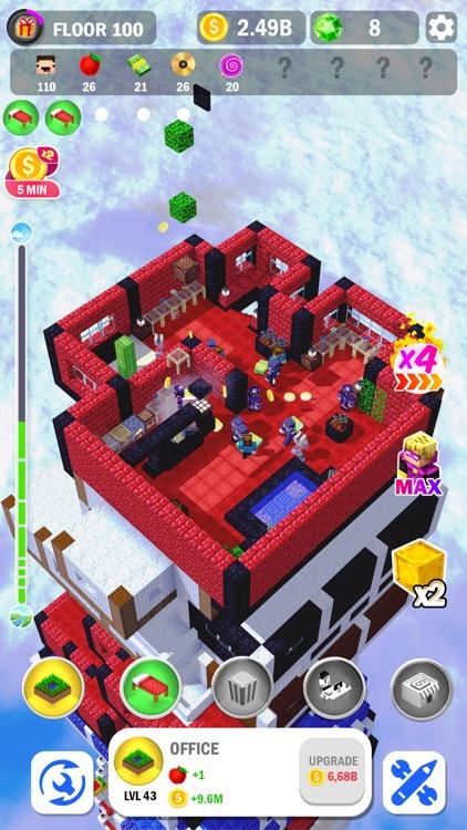 Tower Craft 3D - Idle Building screenshot-7