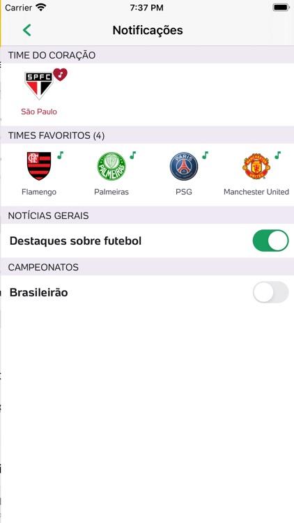 Placar UOL - Futebol screenshot-9