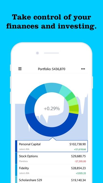 Personal Capital: Investing screenshot-4